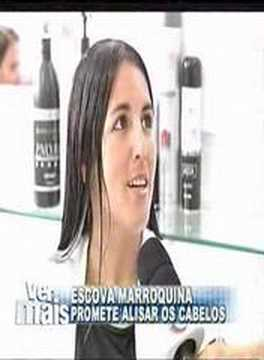 escova progresiva marroquina INOAR na rede record