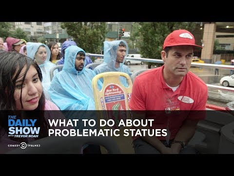 What to Do About Problematic Statues The Daily Show