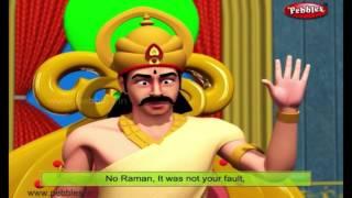 King Punishes Raman | Moral Stories of Tenali Raman For Kids | 3D Tenali Raman Stories in English