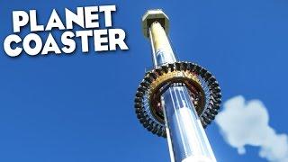 """PLANET COASTER - A """"BIG TOWER"""" FINALMENTE!!! INCRÍVEL"""