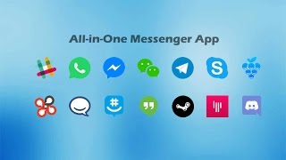 How To Use this All-in-One Messenger for WhatsApp, Messenger and Hangout and chat like a boss