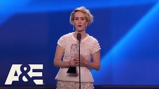 Sarah Paulson Wins Best Actress in a Limited Series   22nd Annual Critics