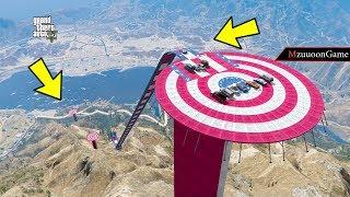 مود القفز الدائري من اعلى مكان شي اسطوري لايفوتكم قراند 5 GTA V