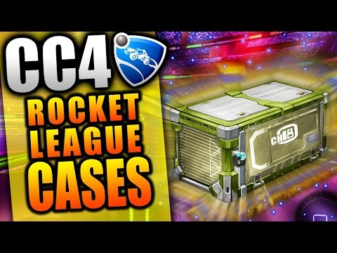 ROCKET LEAGUE CHAMPION CRATE 4 OPENING CC4 Crates