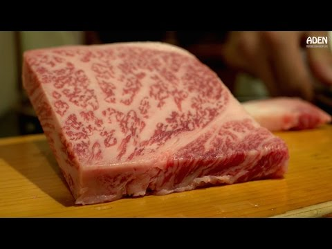 Kobe Beef Teppanyaki Food in Japan