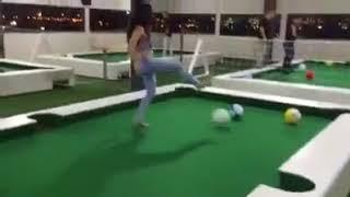 Foot billiards- ayak bilardosu - çok eğlenceli