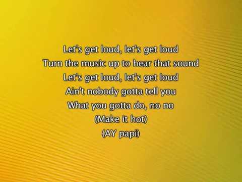 Xxx Mp4 Jennifer Lopez Let S Get Loud Lyrics In Video 3gp Sex