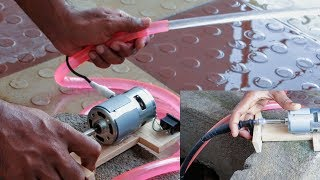How to make a real submersible water pump