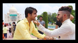 BOLLYWOOD LOVE SCENE PRANK AT TAJ MAHAL!!!!