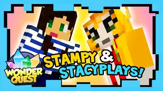 Wonder Quest - Episode 7 - STAMPY'S MINECRAFT SHOW | Stampylonghead, Stacyplays, ShayCarl