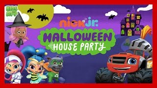 Blaze and the Monster Machines - PAW Patrol - Halloween House Party - Best Games For Kids