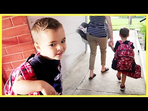 😥ABRAM'S FIRST DAY OF