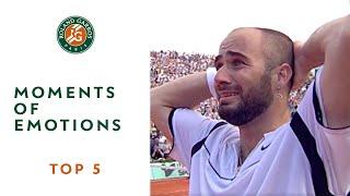 Top 5 Moments of Emotions - Roland-Garros