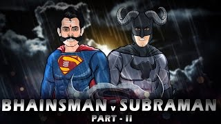 Batman vs Superman Spoof Part 2 || Shudh Desi Endings