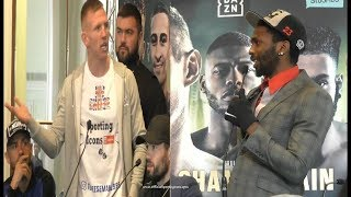 *STOLE THE HEADLINES* TED CHEESEMAN vs ASINIA BYFIELD PRESS CONFERENCE REACTION!! NO FOOTAGE!