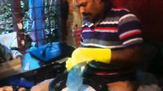 PALLIUM  WASHING POWDER MAIKING ..........RAJESH P.S.  CHEMPERI. KANNUR. KERALA, INDIA