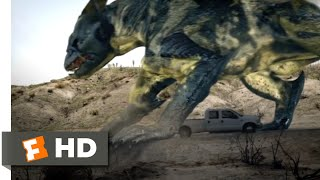 Alien Convergence (2017) - The Monster Approaches Scene (4/9) | Movieclips