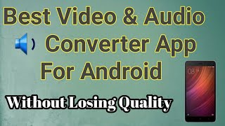Best Video Converter for Android - Reverse Video Android | Timbre App