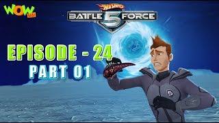 Motu Patlu presents Hot Wheels Battle Force 5 - Mobi 3.0 - Episode 24-P1- in Hindi