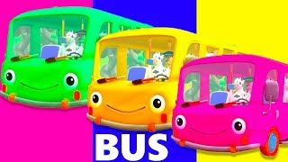 The Wheels On The Bus : PART 2 | Nursery Rhymes for Kids & Baby Songs