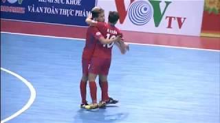 Highlight Thái Sơn Nam 1-3 Cao Bằng ( Vòng 4 giải Futsal VĐQG 2018)