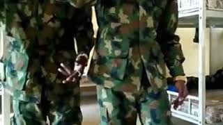 Soldiers Join The 'Na Dem Dey Rush Us' Gang
