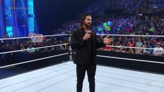 Seth Rollins returns to SmackDown : SmackDown, 26 May 2016