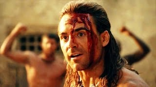 Spartacus Gods of the Arena Epic Scenes of Gannicus