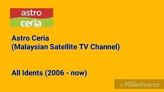 Astro Ceria All Idents (2006-now)