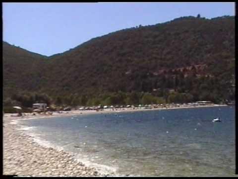 Κεφαλονιά παραλία Αντισάμης (Antisamos Κefalonia)
