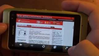 Nokia N8 Review - part V - Internet Browser, Opera Mobile, Internet TV, ipla, YouTube - luinHD