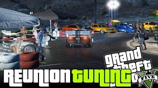 REUNION DE AUTOS TUNING Y MUJERES | GTA V Lugar secreto | GTA 5 PC Mods