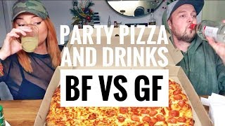 PARTY PIZZA AND DRINKS - BF & GF + STORYTIME