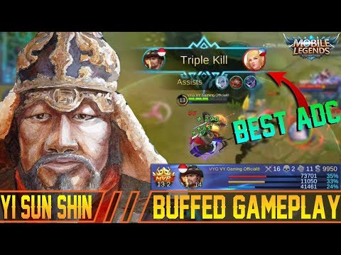 Why Yi Sun Shin is OverPower Now? YSS Buffed Gameplay and Build - Mobile Legends Patch 2.16