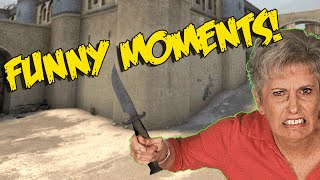CS:GO FUNNY MOMENTS - ANGRY MUM ON CSGO