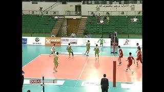 Iran china volleyball libero Mohamad fattahi move practice.sheikh rashied volleyball
