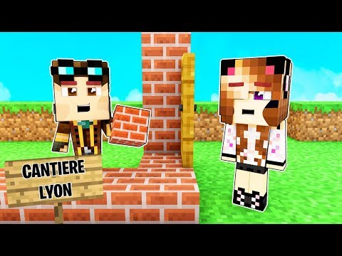 IL MIO NUOVO LAVORO DA COSTRUTTORE DI CASE! - Casa di Minecraft LIVE