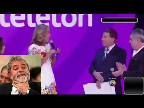 Silvio Santos Detona o Lula PT Ao Vivo no Programa TeleTon