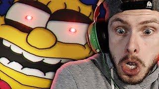 FNAF GOT MARGE ALL CRAZY!   Fun Times at Homer