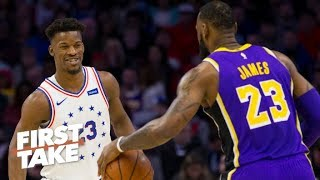Jimmy Butler is a perfect fit with LeBron, Anthony Davis on the Lakers – Max Kellerman | First Take