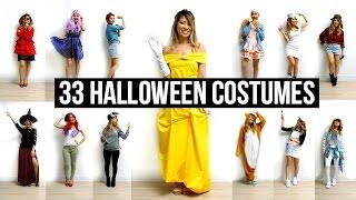 33 Last-Minute DIY Halloween Costumes Ideas!