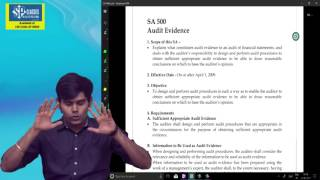 CA IPCC / Final Standards on Auditing Lecture 5A - BY CA HARSHAD JAJU