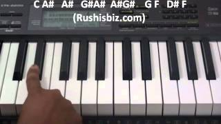 Tum Hi Ho .. Aashiqui2 - 'FULL SONG Piano Tutorial '