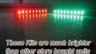 Signal 9 CEL   Custom Built LED Light Bars   Marine Navigation Lights for Bow Fishing