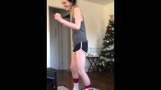 My half Japanese wife learning she can't twerk on Christmas