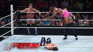 Chris Jericho & AJ Styles vs. The New Day: Raw, February 29, 2016