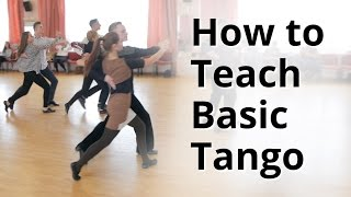 Workshop - How to do Basic Tango for Beginners | Ballroom Dance