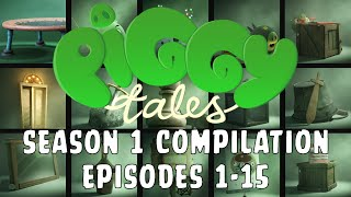 Piggy Tales Season 1 Compilation Ep. 1-15