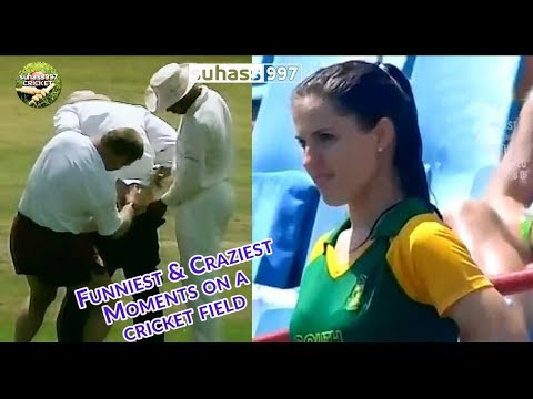 The Funniest and craziest moments on a cricket field Part 1