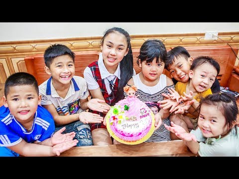 Xxx Mp4 Kids Go To School Birthday Of Chuns Children Cooperation Make A Birthday Cake In Bakery Shop 3gp Sex